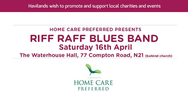 Home Care Preferred Charity Blues Night for Noah's Ark Children's Hospice