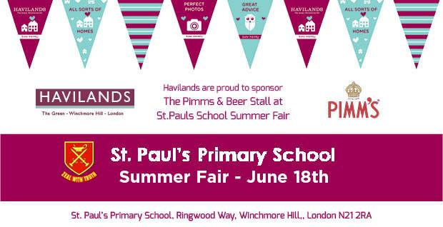 St Paul's Primary School Summer Fete