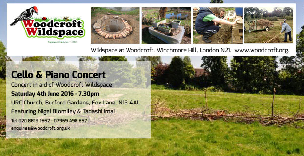 Concert in Aid of Woodcroft Wildspace