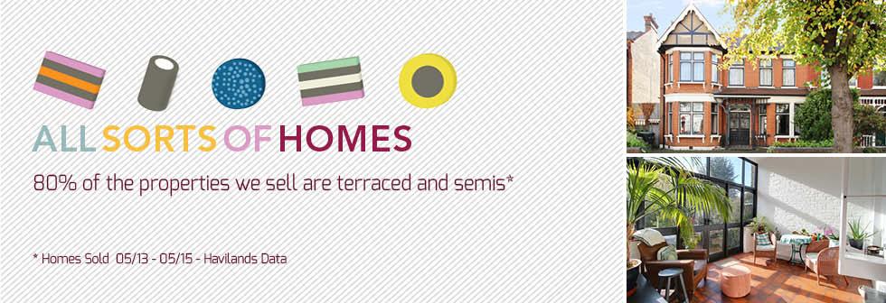 Havilands: All Sorts of Homes